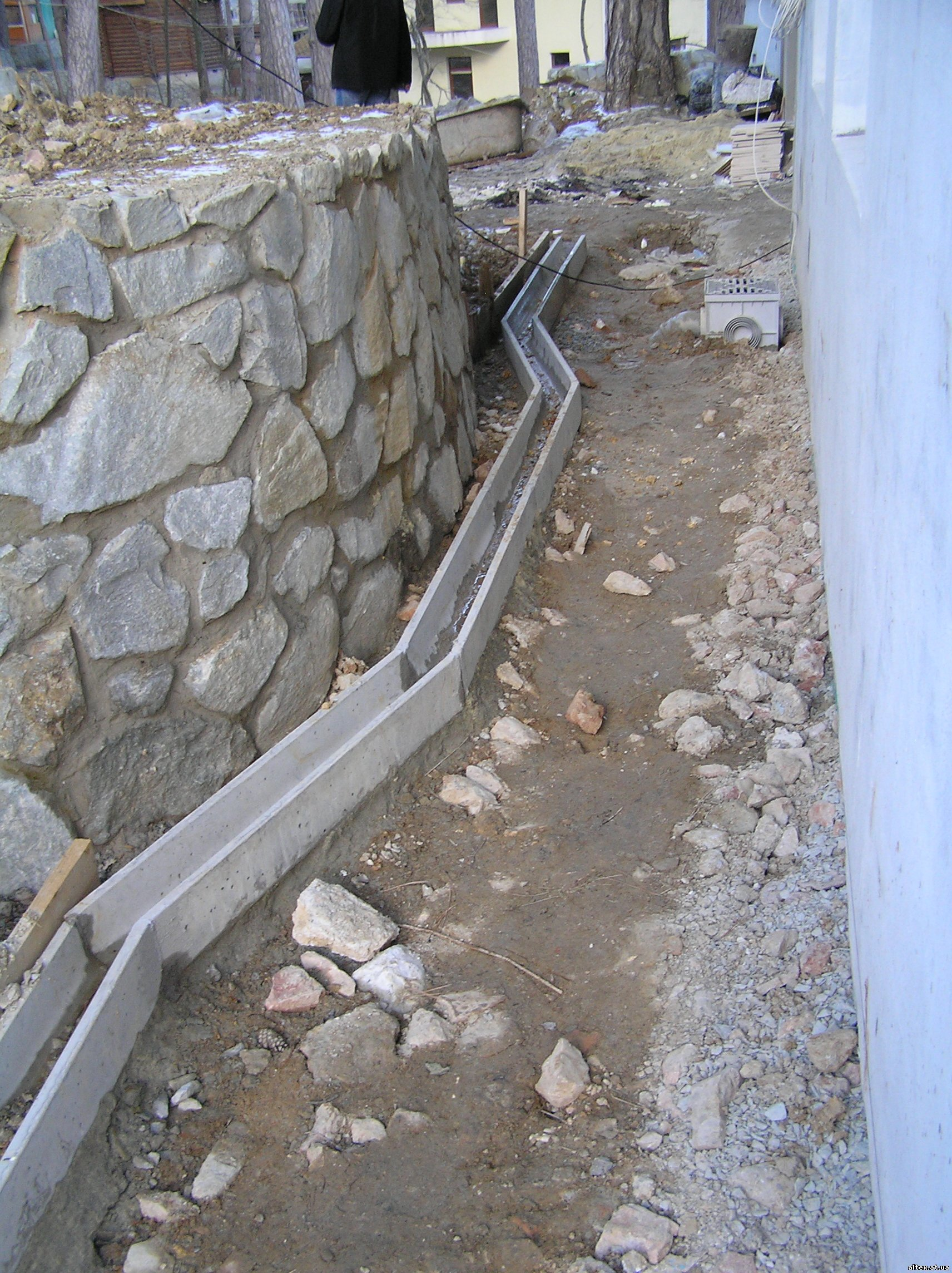 Водоотвод бетонный своими руками 412
